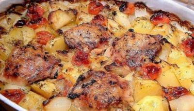 Elkes- Hähnchenpfanne - Rezept
