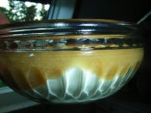 Nachspeise: Caipirihna-Birnen-Joghurt-Dessert - Rezept
