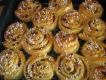 Hefe-Apfelschnecken - Rezept