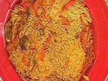 Asia Crispy Noodle Cakes - Rezept