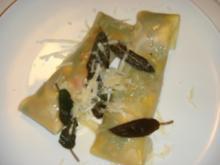 Auberginen-Pasta-Taschen - Rezept