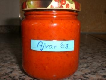 * Eingemachtes* Ajvar - Rezept