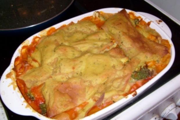 Brokkoli-Nuss Lasagne - Rezept