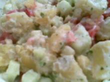 Salate: Leichter Kartoffel-Joghurt Salat - Rezept