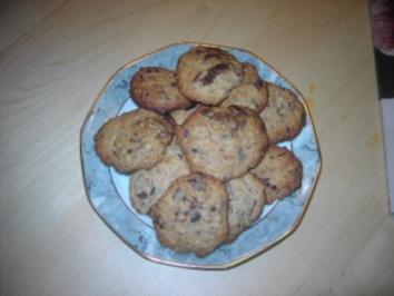 Schoko-Hafer-Cookies - Rezept