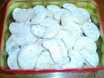 Vanille-Kipferln - Rezept