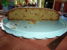 Kuchen: Amaretto-Crunch-Kuchen - Rezept