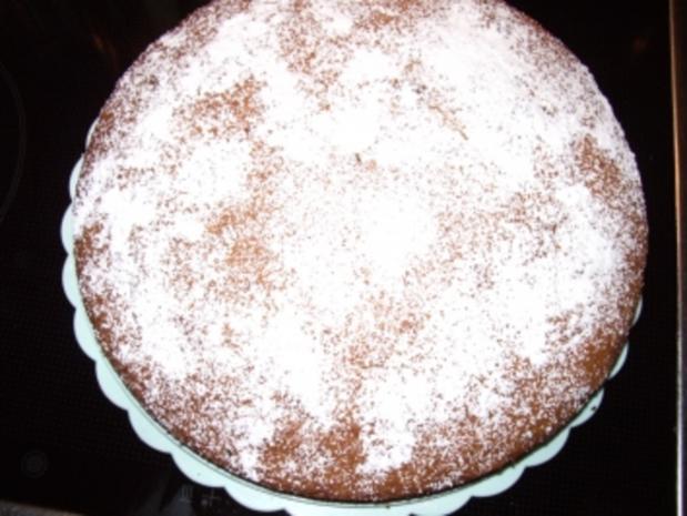 Kuchen: Amaretto-Crunch-Kuchen - Rezept - Bild Nr. 3