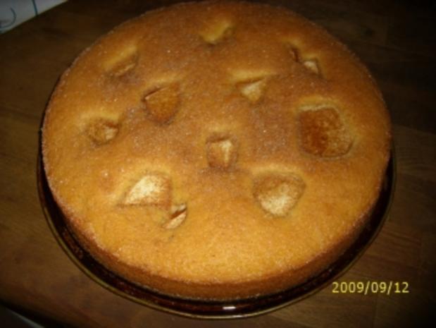 Backwerk: Apfelkuchen sehr fein - Rezept
