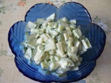 Kohlrabi-Gurken-Salat - Rezept