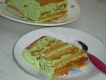 Pistazien, Aprikosen, Lebkuchen Eis. - Rezept