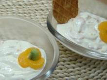 Brause-Creme mit Mandarinen - Rezept