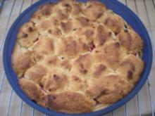 "KUCHEN- ""Apfel- Johannisbeer- Mandelstreusel- Kuchen"" - Rezept"