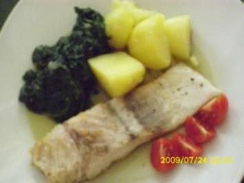 Fisch:   Freitag ist Fischtag - Rezept