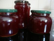Marmelade: Sauerkirschgelee mit Schuss - Rezept