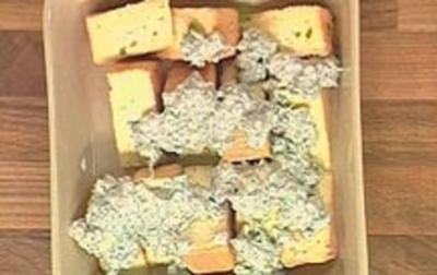 Eingelegter Münster Käse - Rezept