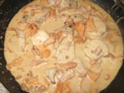 Schweinefilet...in Pfeffer-Pfifferling-Rahmsauce - Rezept