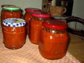 Tomaten-Gemüse-Sosse - Rezept