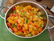 Kürbis-Kartoffelsalat, asiatisch - Rezept