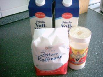 Milch-Marmelade - Rezept