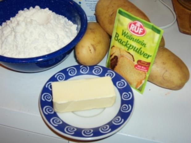 Boxty, traditionell irische Kartoffelbrötchen - Rezept