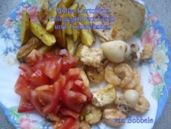 Rezept: Beilage: Ganz wilde Kartoffeln