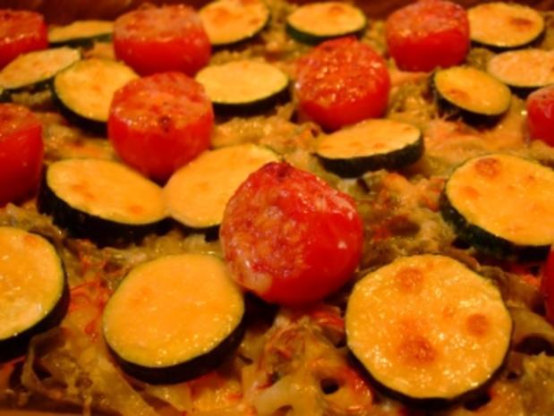 NUDELAUFLAUF mit Zucchini & Tomaten - Rezept - Bild Nr. 5