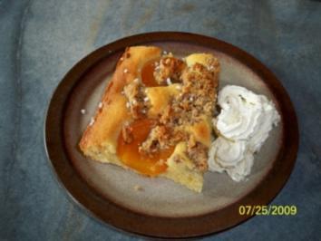 Aprikosen-Haselnuss Kuchen - Rezept