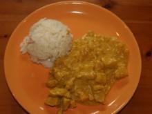 Curryhühnchen - Rezept