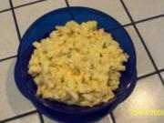 Eiersalat mit Estragon und Schnittlauch - Rezept