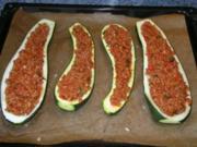 Gefüllte Zucchini! - Rezept