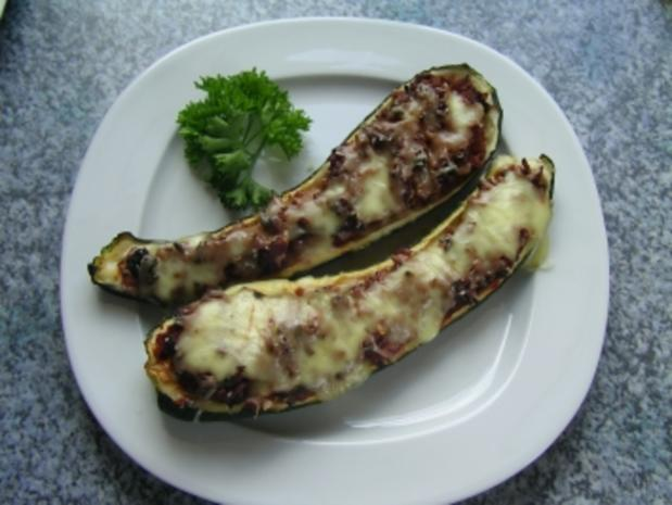Gefüllte Zucchini! - Rezept - Bild Nr. 2
