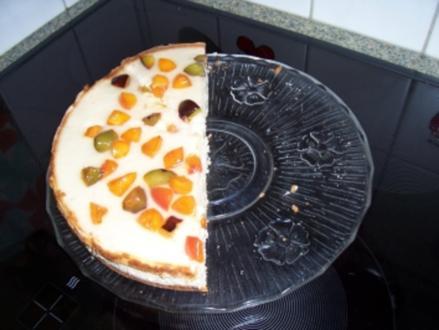 Karamell-Quark-Sahne-Torte - Rezept