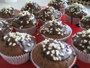 Dinkel Schoko Muffins - Rezept