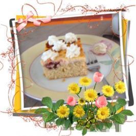 Kuchen: Pflaumenkuchen mit Zimt und Rahmguss - Rezept