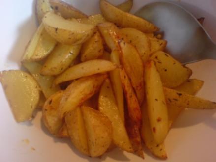 Potatoe Wedges - Rezept