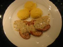 Kalbsschnitzel an Kräuter-Zitronen-Sauce - Rezept