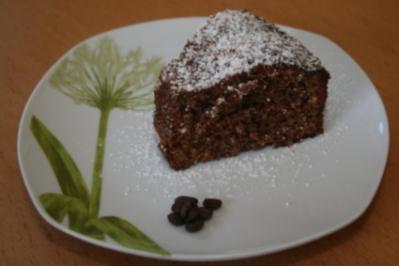Kaffee Schoko Kuchen - Rezept