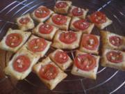 """Fingerfood """"Tomaten-Quadrate"""" - Rezept"""