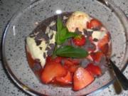 Erdbeeren in Portwein - Rezept