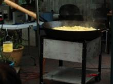 Bratkartoffeln aus der Riesenpfanne - Rezept