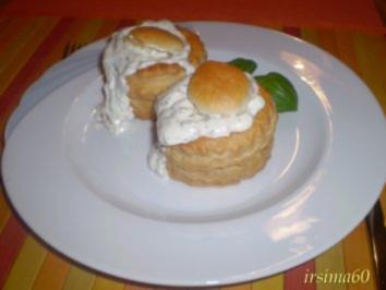 Königin - Pasteten mit Lachs - Rezept