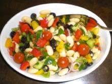 Gemüsesalat in fruchtiger Senfsoße - Rezept