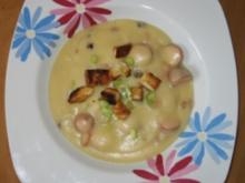 Kartoffel-Kohlrabisuppe mit Pfiff ;-)) - Rezept