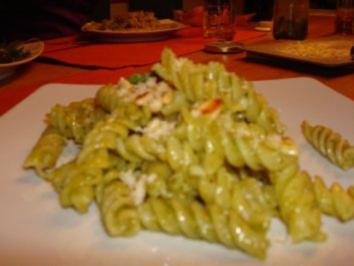 Rezept: PPP - PestoPasta mit Pinienkernen