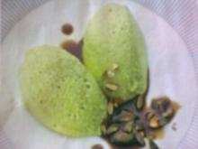 Spargelmousse mit Kürbiskernen - Rezept