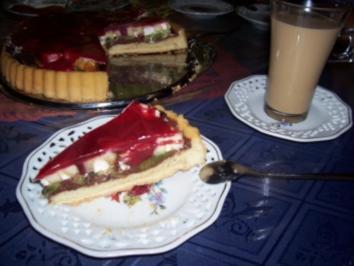 Rezept: Kuchen - Bisquitschneckentorte