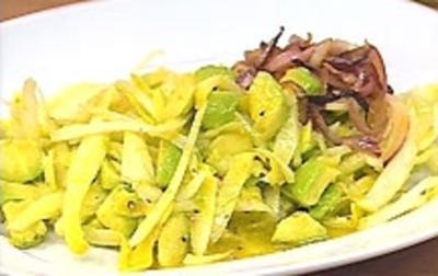 Avocado-Chicorée-Salat - Rezept