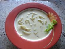 Cremige Fenchelsuppe - Rezept