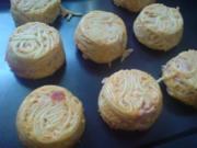 """Muffins, herzhaft """"Spaghetti-Törtchen"""" - Rezept"""
